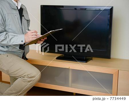 業者とテレビ 7734449