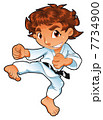 Baby Karate Player. 7734900