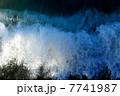しぶき 波しぶき 波の写真 7741987
