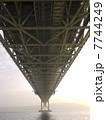 明石海峡大橋 明石大橋 橋の写真 7744249