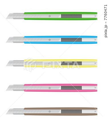 カッターナイフのイラスト素材 7760471 Pixta