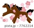 馬とさくら 7762214
