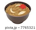 牛丼 7765321