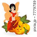 妖精 女性 チョウのイラスト 7779789