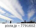 冬のすじ雲02 7791602