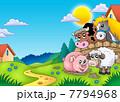 動物 農業 農耕のイラスト 7794968