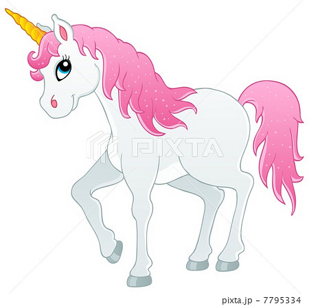 Fairy Tale Unicorn Theme Image 1のイラスト素材
