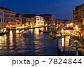 ヴェネツィア ライトアップ ベネチアの写真 7824844