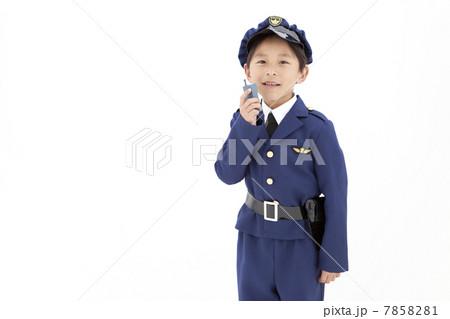 トランシーバーを持つ男の子 7858281