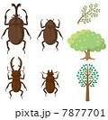 昆虫と木 7877701