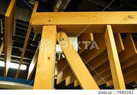 耐震補強・木造軸組構法(在来工法)の筋交・上部横位置 7882082