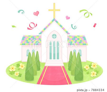 教会のイラスト素材 7884334 Pixta