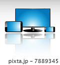 スマートフォン モニタ スマフォのイラスト 7889345