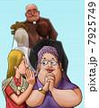 ささやき ひそひそ話 女性のイラスト 7925749