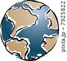 世界 地理 地球儀のイラスト 7925822
