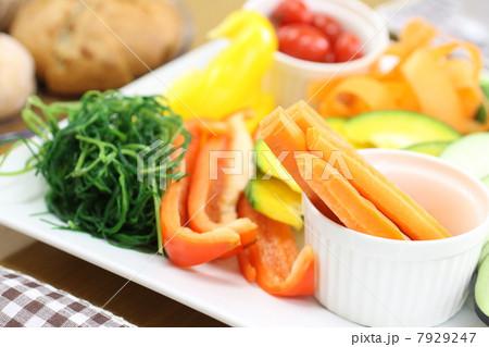 生野菜ランチ風景 7929247