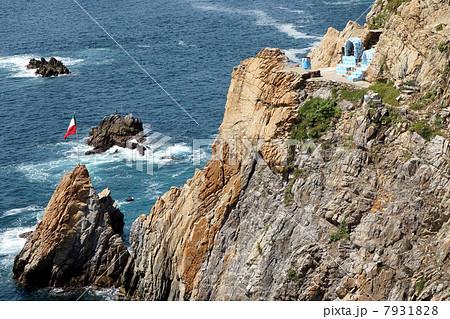 アカプルコの飛び込みショーの断崖 7931828