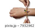 Rakhi on a boys hand 7932962