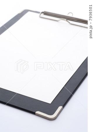 バインダーと用紙のアップ 7936501