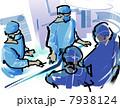 オペ 手術 医療のイラスト 7938124