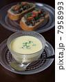 冷製コーンスープでランチ 7958993