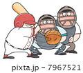 スポーツ 野球 人物のイラスト 7967521
