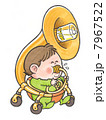 乳児 子供 赤ちゃんのイラスト 7967522