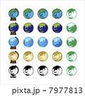 地球儀 ベクター 地球のイラスト 7977813