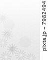 喪中 喪中ハガキ 菊のイラスト 7982494