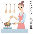 調理 クッキング ベクターのイラスト 7997765