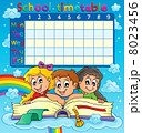School timetable thematic image 7 8023456