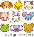 動物の顔 8064265