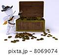 海賊 宝 宝物のイラスト 8069074