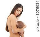 摂食 食べさせる 母乳育児の写真 8076034