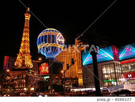 ラスベガスの夜景 8086327