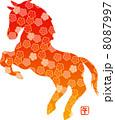 和柄の馬 8087997