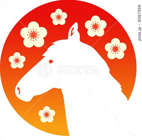 梅と馬 8087999