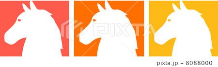 3色の馬 8088000
