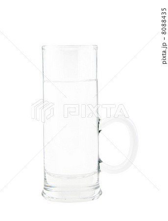 Glass of fresh and clear waterの写真素材 [8088435] - PIXTA
