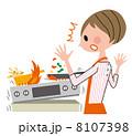 火災事故 ベクター 災害のイラスト 8107398