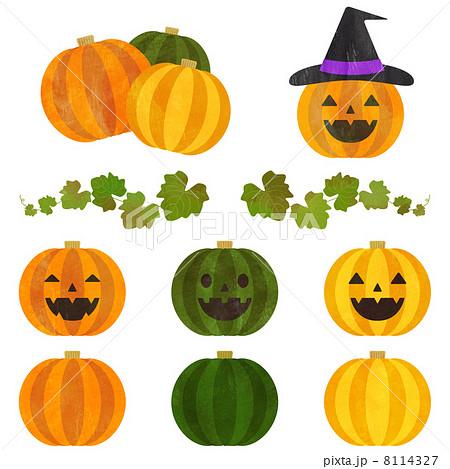 かぼちゃ ハロウィンのイラスト素材 8114327 Pixta