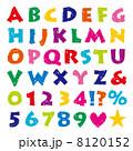 英語 文字 数字のイラスト 8120152