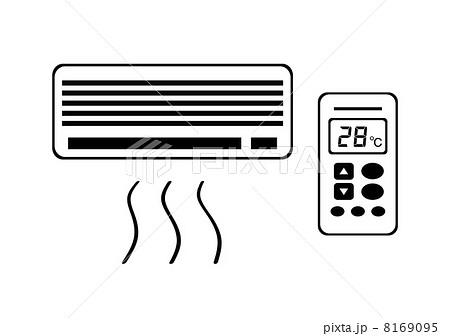 エアコンの設定温度のイラスト素材 [8169095] - PIXTA