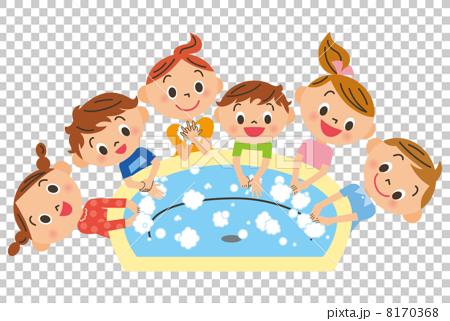 孩子們洗手 8170368