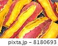 さつまいも サツマイモ いも 芋 薩摩芋 食べ物 秋の味覚  秋 スイーツ スイートポテト  野菜 料理 甘い 和食 軽食 おやつ 有機野菜 家庭菜園 オーガニック 食育 おかず ふかし芋 蒸し芋 蒸 8180693