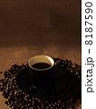 コーヒーと豆 8187590