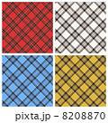 チェックのパターン 4種 8208870