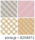 チェックのパターン 4種 8208871