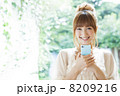 若い 女性 日本人の写真 8209216