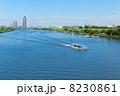 川 船 ボートの写真 8230861